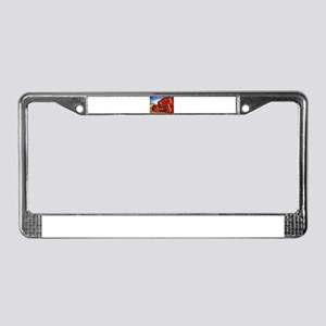 Bat out of Hadees License Plate Frame