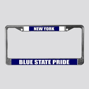 Blue State Pride License Plat License Plate Frame