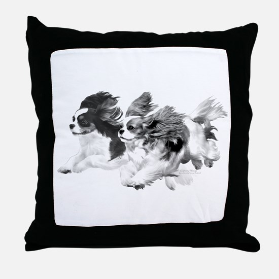 Cavaliers - Pencil Throw Pillow