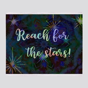 Reach for the Stars Throw Blanket