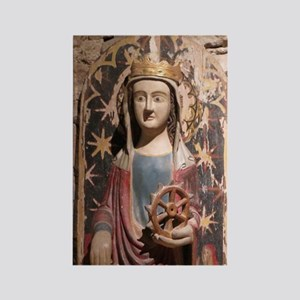 St. Catherine of Alexandria Rectangle Magnet