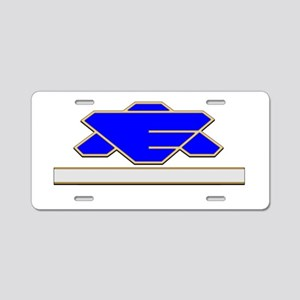 Command Staff Aluminum License Plate