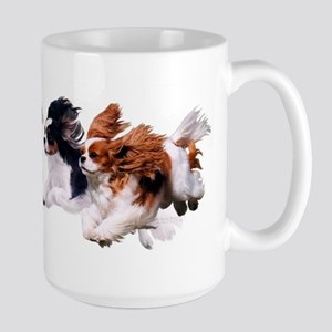 Cavaliers - Color Large Mug