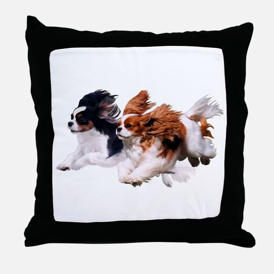 Cavaliers - Color Throw Pillow
