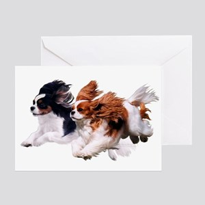Cavaliers - Color Greeting Card