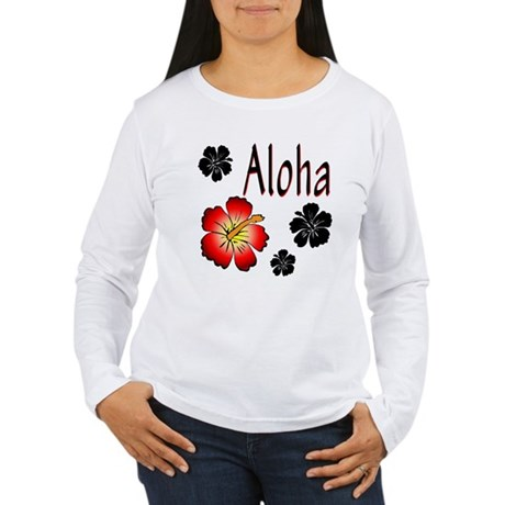 Hibiskus Aloha Women's Long Sleeve T-Shirt