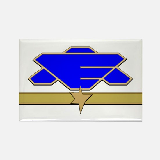 Flag Officer Rectangle Magnet