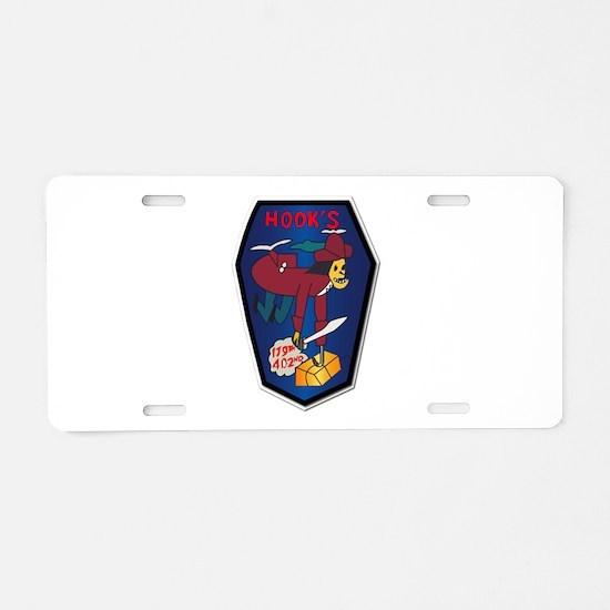 179th Ash Co - Vn War Svc R Aluminum License Plate