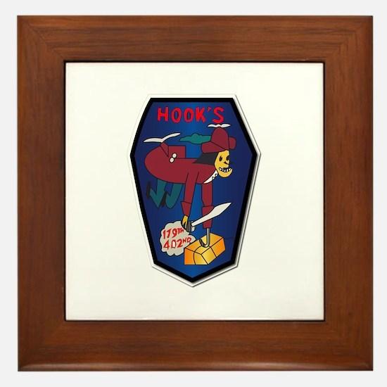179th ASH Co - VN War SVC Ribbons Framed Tile