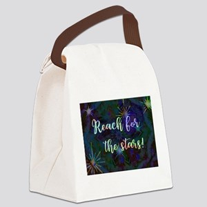 Reach for the Stars Canvas Lunch Bag