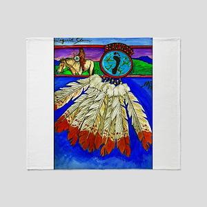 Blackfoot for Life Throw Blanket