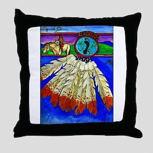 Blackfoot for Life Throw Pillow