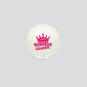 Burpees queen Mini Button