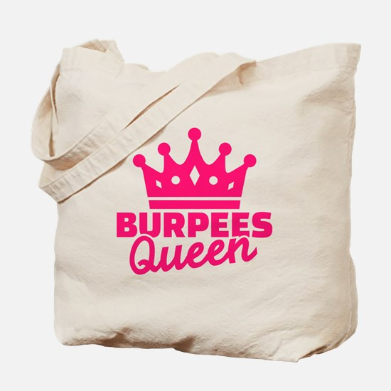 Burpees queen Tote Bag