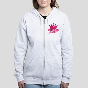 Burpees queen Women's Zip Hoodie