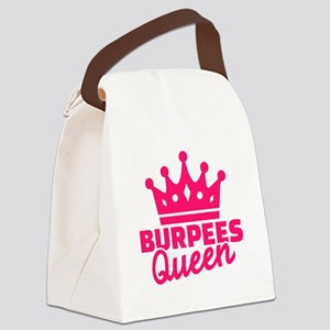 Burpees queen Canvas Lunch Bag