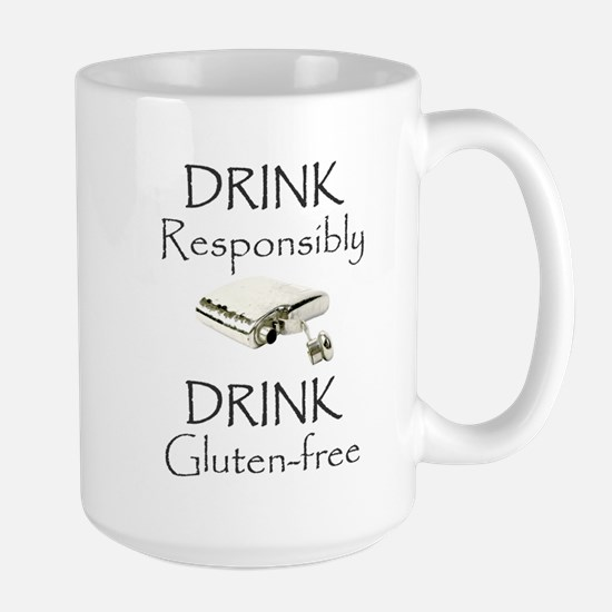 Drink Responsibly Drink Gluten-Free Flask Mugs