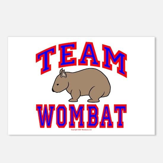 Team Wombat VI Postcards (Package of 8)