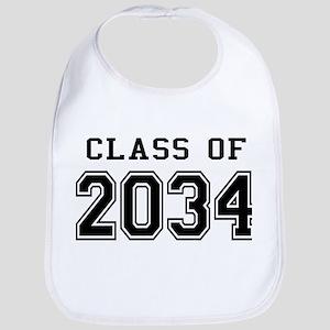 Class of 2034 Baby Bib