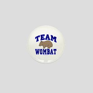 Team Wombat IV Mini Button