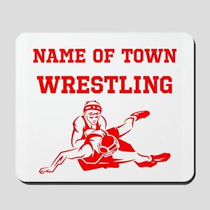 Wrestling Mousepad