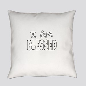 I AM BLESSED Everyday Pillow