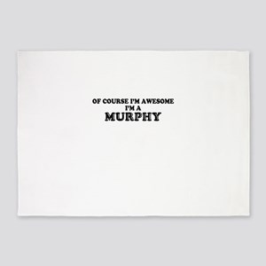 Of course I'm Awesome, Im MURPHY 5'x7'Area Rug
