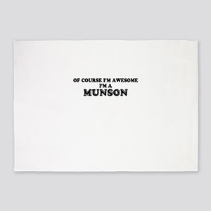 Of course I'm Awesome, Im MUNSON 5'x7'Area Rug