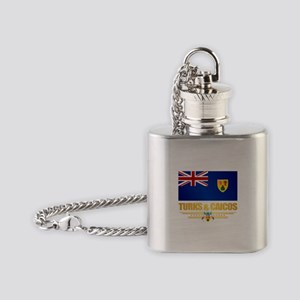 Turks and Caicos Flask Necklace