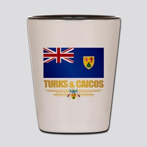 Turks and Caicos Shot Glass