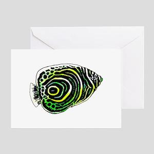 Emperor angel fish Greeting Card