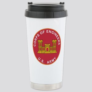 Army Corps Of Engineers Stainless Steel Travel Mug
