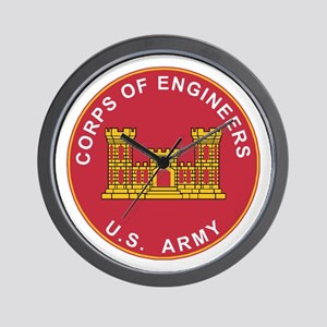 Army Corps Of Engineers Wall Clock