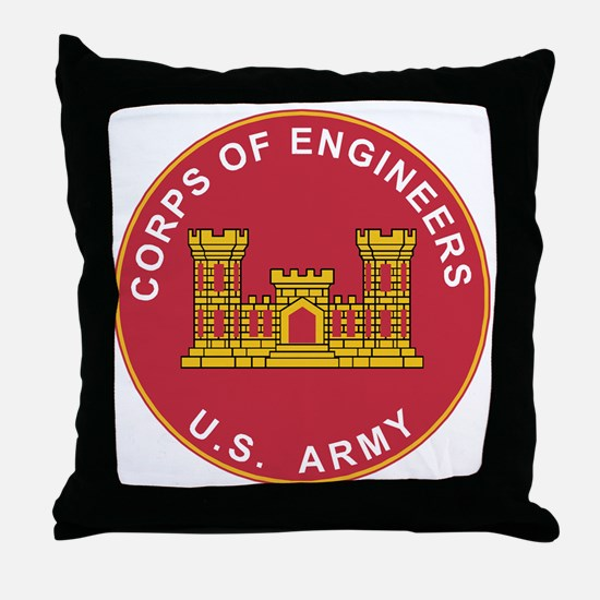 Army Corps Of Engineers Throw Pillow