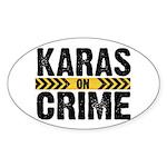 Karas On Crime Logo Sticker