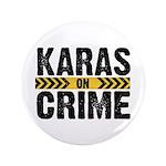 Karas On Crime Logo Button