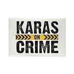 Karas On Crime Logo Magnets