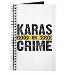 Karas On Crime Logo Journal