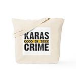 Karas On Crime Logo Tote Bag