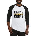 Karas On Crime Logo Baseball Jersey