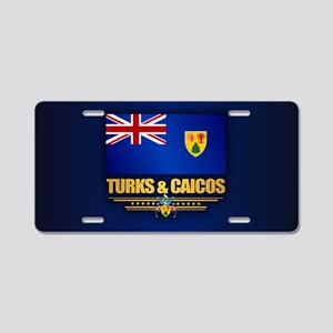 Turks and Caicos Aluminum License Plate