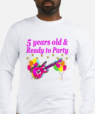 5TH BIRTHDAY Long Sleeve T-Shirt
