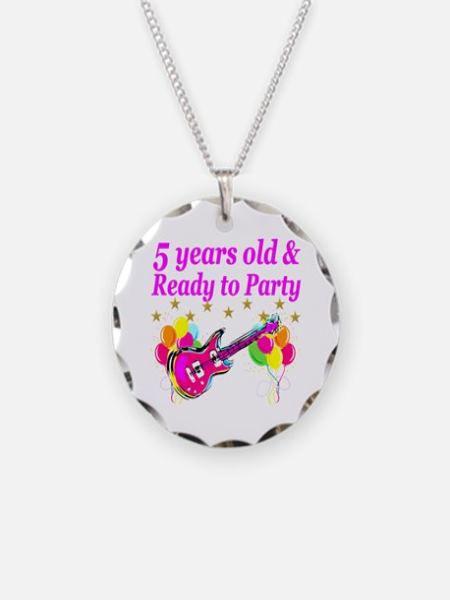 5TH BIRTHDAY Necklace