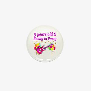 5TH BIRTHDAY Mini Button