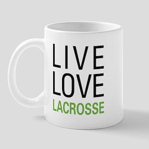 Live Love Lacrosse Mug