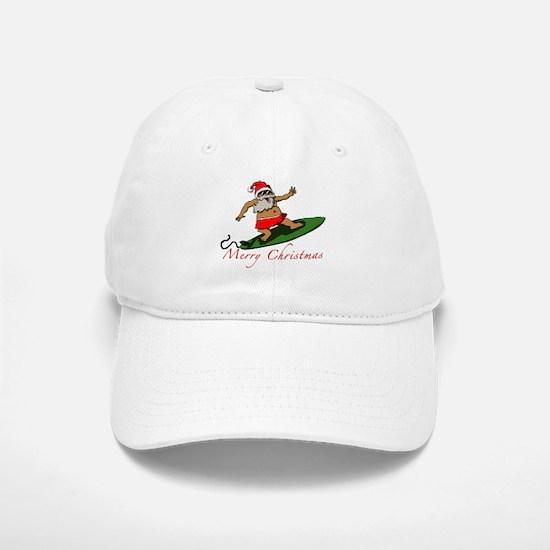 Santa Baseball Baseball Cap