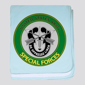 US Army Special Forces Emblem baby blanket