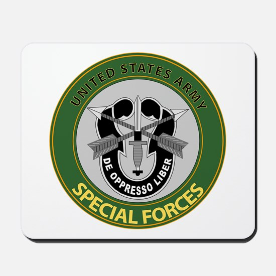 US Army Special Forces Emblem Mousepad