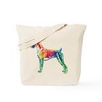 Boxer Color Splash Tote Bag
