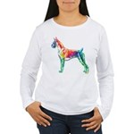 Boxer Color Splash Long Sleeve T-Shirt